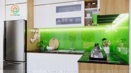 Tham khảo thiết kế nhà 2 tầng - Tiết kiệm và tiện ích
