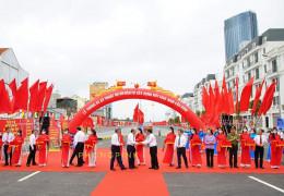 Lễ cắt băng thông xe kỹ thuật nút giao Nam cầu Bính Hải Phòng