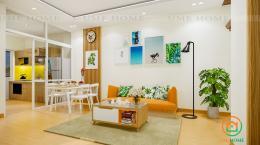 Thiết kế nội thất căn hộ chung cư 63,4m2